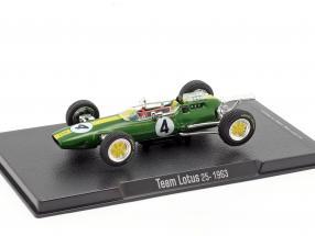 Jim Clark Lotus 25 #4 World Champion formula 1 1963 1:43 Altaya