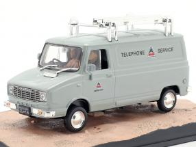 Leyland Sherpa Van James Bond movie The Spy who loved me car 1:43 Ixo