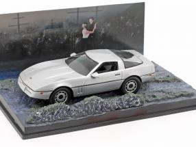 Chevrolet Corvette James Bond Movie Car Drown In Silver 1:43 Ixo