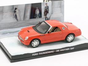 Ford Thunderbird Car James Bond movie Die Another Day orange 1:43 Ixo