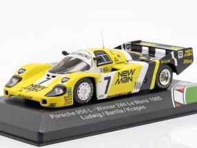Porsche 956 L #7 Winner 24h LeMans 1985 Ludwig, Barilla, Krages 1:43 CMR