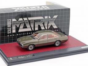 Jaguar XJ 12-PF Pininfarina year 1973 bronze metallic 1:43 Matrix
