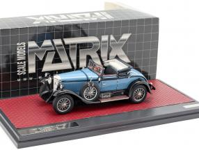 Mercedes-Benz 630K Sport Cabriolet Hibbard and Darrin Open year 1927 blue 1:43 Matrix