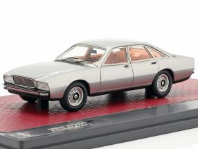 Jaguar XJ 12-PF Pininfarina year 1973 silver metallic 1:43 Matrix