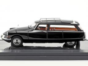 Citroen ID19 Cortege Slough Factory Hearse year 1962 black 1:43 Matrix