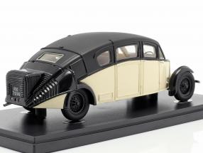 Burney R-100 Streamline year 1930 ivory / black