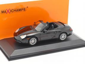 Porsche 911 (996) Cabriolet year 2001 black metallic