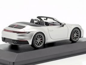 Porsche 911 (992) Carrera 4S Cabriolet year 2019 silver