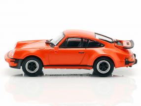 Porsche 911 Turbo (930) year 1977 orange 1:87 Minichamps