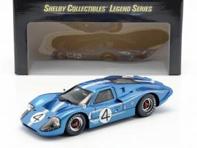 Ford GT40 MK IV #4 24h LeMans 1967 Hulme, Ruby 1:18 ShelbyCollectibles