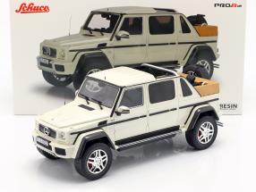 Mercedes-Benz Maybach G650 Landaulet white 1:18 Schuco