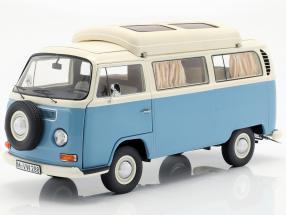 Volkswagen VW T2a camper blue / white 1:18 Schuco