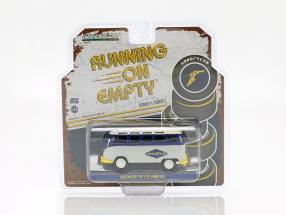 Volkswagen VW Type 2 (T1) Samba Bus Goodyear blue / yellow / gray 1:43 Greenlight