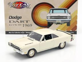 Dodge Dart GTS 440 year 1969 white 1:18 GMP