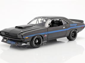 Dodge Challenger Trans Am Street Version 1970 black / blue 1:18 GMP
