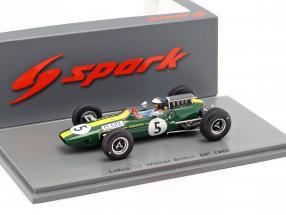 Jim Clark Lotus 33 #5 Weltmeister Großbritannien GP Formel 1 1965 1:43 Spark
