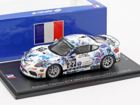Porsche Cayman GT4 #27 IMSA Performance FFSA GT 2018 Blanchemain, Palette 1:43 Spark