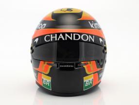 Stoffel Vandoorne McLaren MCL33 #2 Formel 1 2018 Helm 1:2 Bell