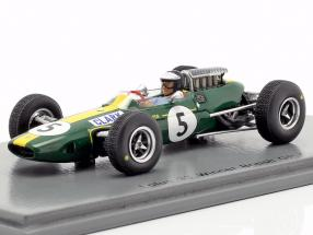 Jim Clark Lotus 33 #5 World Champion Great Britain GP formula 1 1965 1:43 Spark