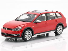 Volkswagen VW Golf 7 Alltrack year 2015 tornado red 1:18 DNA Collectibles