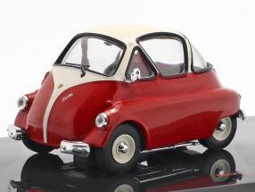 Iso Isetta Baujahr 1955 rot / weiß 1:43 Ixo