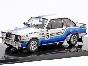 Ford Escort MK II RS 1800 #5 winner Hessen Rallye 1978 Hainbach, Linzen 1:43 Ixo