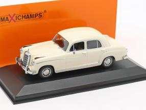 Mercedes-Benz 220 S (W180 II) Baujahr 1956 creme weiß 1:43 Minichamps