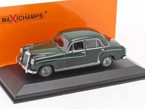 Mercedes-Benz 220 S (W180 II) year 1956 dark green 1:43 Minichamps
