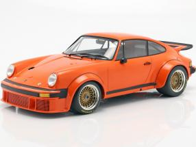 Porsche 934 year 1976 orange 1:12 Minichamps