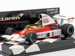 Emerson Fittipaldi McLaren M23 #1 Winner British GP F1 1975 1:43 Minichamps