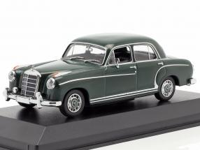 Mercedes-Benz 220 S (W180 II) Baujahr 1956 dunkelgrün 1:43 Minichamps