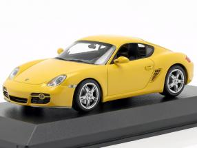Porsche Cayman S (987c) year 2005 yellow 1:43 Minichamps