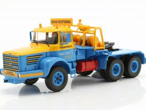 Berliet TB 015 M3 6x4 year 1960 blue / yellow 1:43 Ixo