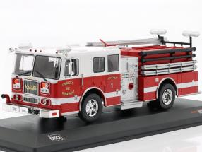 Seagrave Marauder II Charlotte Fire Department red / white 1:43 Ixo