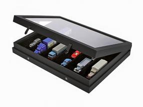 Showcase Black Edition with 6 shelfs SAFE
