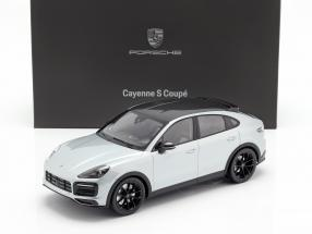 Porsche Cayenne S Coupe 2019 dolomite silver 1:18 Norev