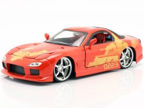 Orange Julius' Mazda RX-7 1995 Movie 2 Fast 2 Furious (2003) 1:24 Jada Toys