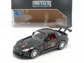 Johnny's Honda S2000 1995 Movie Fast & Furious (2001) black 1:24 Jada Toys
