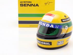 Ayrton Senna McLaren MP4/5B #27 World Champion formula 1 1990 helmet 1:2