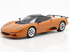 Jaguar XJR-15 Construction year 1990 orange metallic 1:18 Cult Scale