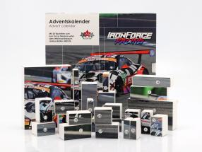 Iron Force Advent Calendar: Porsche 911 (991) GT3 R #69 Iron Force 1:43 CMR