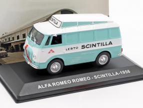 Alfa Romeo Romeo van Scintilla turquoise / White 1:43 Altaya