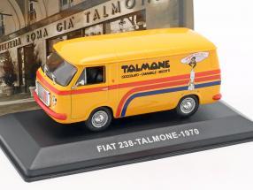 Fiat 238 van Talmone year 1970 orange 1:43 Altaya