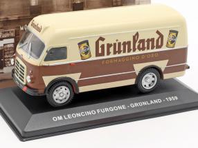 OM Leoncino van Grünland year 1959 brown / beige 1:43 Altaya