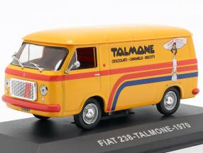 Fiat 238 van Talmone year 1970 orange 1:43 Altaya