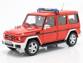 Mercedes-Benz G-Class (W463) 2015 fire Department 1:18 iScale