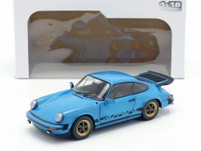 Porsche 911 (930) 3.0 Coupe year 1984 minerva blue 1:18 Solido