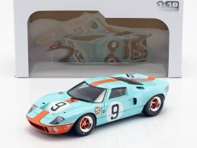 Ford GT40 Gulf #9 Winner 24h LeMans 1968 Rodriguez, Bianchi 1:18 Solido