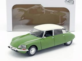 Citroen D Special year 1972 muscine green / white 1:18 Solido