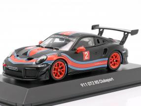 Porsche 911 (991 II) GT2 RS Clubsport #2 black / red / blue 1:43 Spark